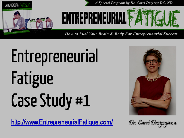 entrepreneur business case study A case study for new entrepreneurs: without having to share their own business information in this case study, we illustrate the challenges facing new.